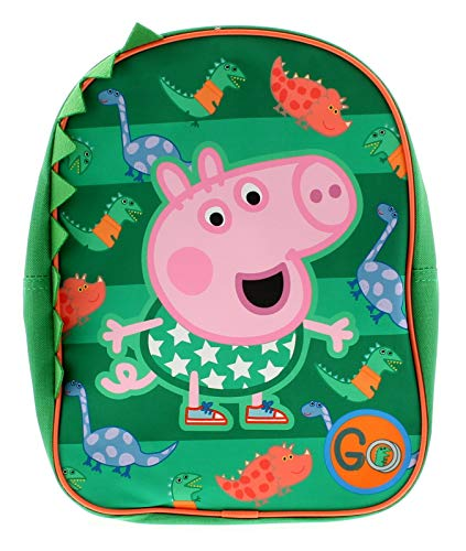 Peppa Pig George Backpack Bags & Accessories Synthetic Material Kids Bags Green/Multi - One Size