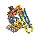 Yahboom プログラム可能なロボットアームキット モーターマイクロ:ビットロボット組み立てセットと教育コーディングキット付き 子供のSTEM学習用 (537ピース、マイクロビットとスーパービットなし)