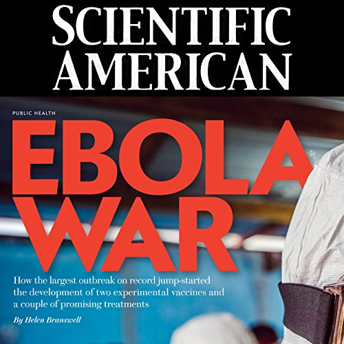 Scientific American: Ebola War cover art