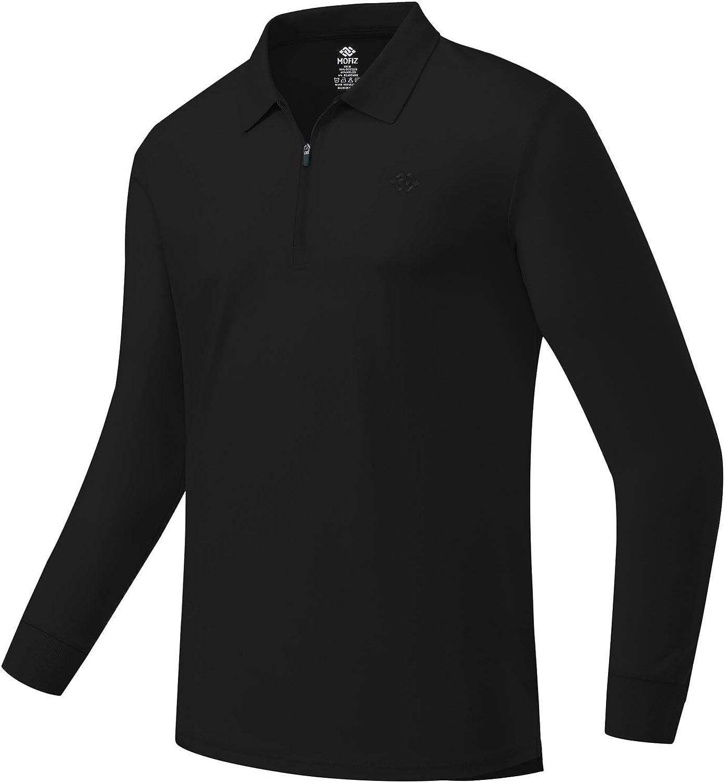 JINSHI Men's Golf Shirts Long Sport Shir Sleeve Polo Special sale San Jose Mall item