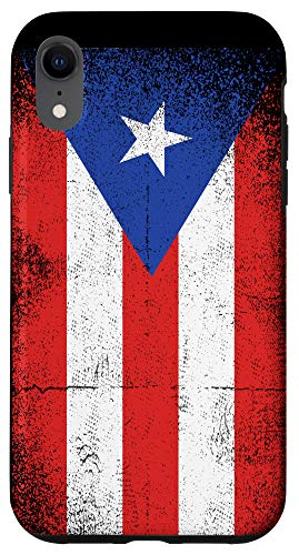 iPhone XR Vintage Puerto Rican Flag Puerto Rico Boricua Patriotic Case