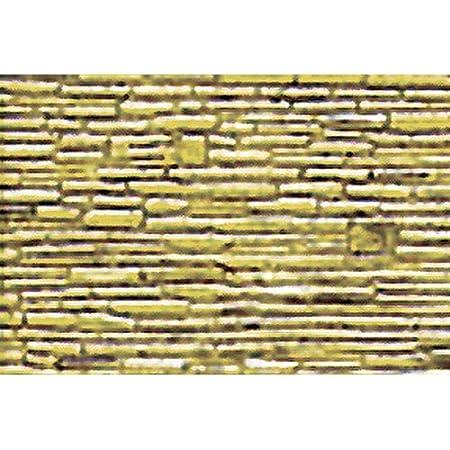 JTT Scenery Products Plastic Pattern Sheets Field Stone