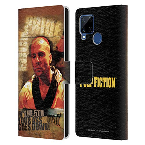 Head Case Designs Licenza Ufficiale Pulp Fiction Butch Arte Cover in Pelle a Portafoglio Compatibile con Realme C15