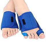 Yosoo Big Toe Straightener Toe, Leg & Foot Su Bunion Splints Separator Relief The Pain +PU Silicone Arch pad 1 Pair (1 Pair)