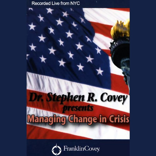 Managing Change in Crisis audiobook cover art