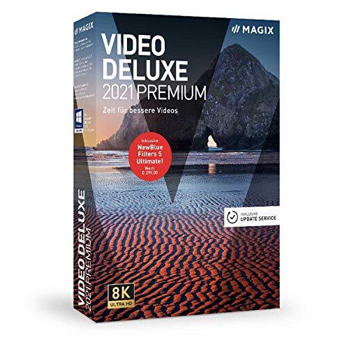 Video Deluxe 2021 Premium – temps pour de meilleures vidéos! |Premium|Multiple|Limitless|PC|Disc|Disque