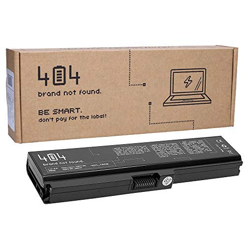 Wessper Batería Toshiba PA3817U-1BRS para Toshiba Satellite L750 C650 C660 C660D C650D C655 C665 C670D L750D L755 L755D L770 L775 P750 Satellite Pro C650 C650D C660 C660D Portátil [4400mAh/10.8V]