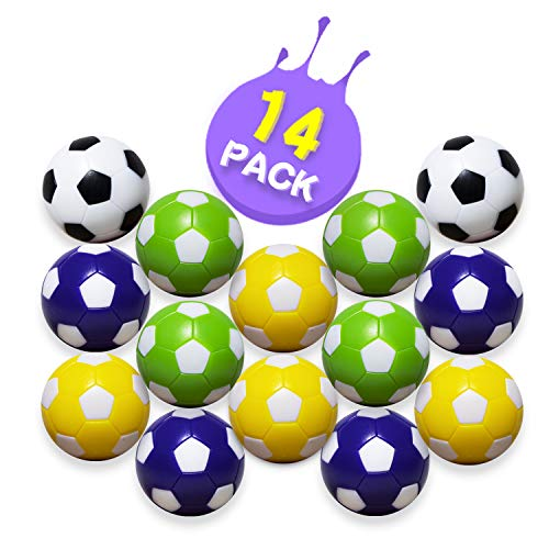Foosball Balls – Table Foosball Replacement Balls for Foosball...