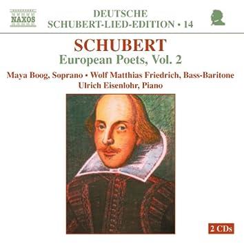 Schubert: Lied Edition 14 - European Poets, Vol. 2