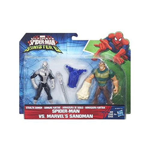 Hasbro Ultimate Spider-Man VS. The Sinister SIX: Spider-Man VS. Marvel'S Sandman