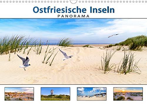 PANORAMA - Ostfriesische Inseln (Wandkalender 2021 DIN A3 quer)