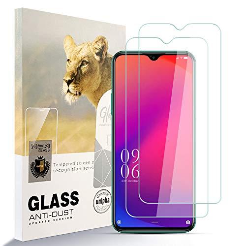 Asoway Displayschutzfolie Panzerglas für Doogee X95 [2er Pack] HD-Hartglasfolie Anti-Fingerabdruck Blasenfrei Leicht zu Installieren, 9H Härte Glasschutzfolie Schutzfolie fürDoogee X95