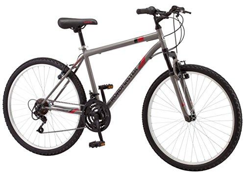 """Roadmaster 26"""" Men's Granite Peak Men's Bike (Black and Red)"""