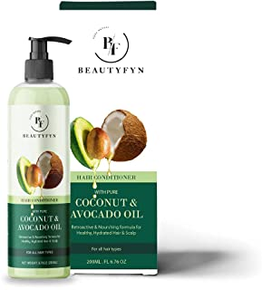 BEAUTYFYN Deep Conditioner – Complete Hair-Care Moisturizing Formula with Coconut & Avocado Oil for All Hair Types – Ideal...