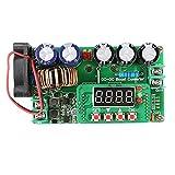 Guolongbaihuo Junta módulo de alimentación 600W DC-DC Digital ControlAdjustable Paso Constante Módulo hasta la eficacia Alta de Voltaje de Corriente de Carga Solar, fiable