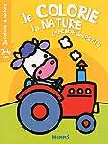 Je colorie la nature - La ferme des petits T5 (2-4 ans) (Vache Tracteur)
