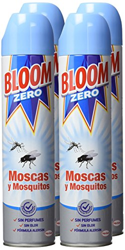 Bloom Zero Aerosol Insecticida Contra Moscas y Mosquitos - Pack