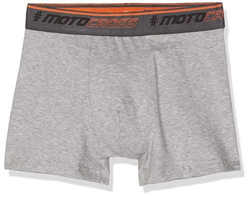 Sanetta Jungen Hipshorts Shorts, Grau (Stone Mel. 1609), 140