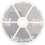 0.39 Pulgadas Gazechimp 8pcs Reflector Adhesivo Trasero para Remolque//Pel/ícula Reflectante de Protector Solar 3.85 1.38