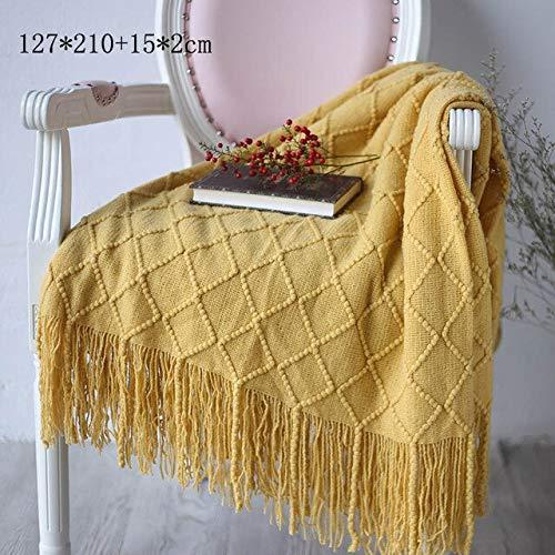 RAQ Gebreide Travel Gooi Deken Voor Bed Sofa Cover Home Textiel Anti-pilling Draagbare Bedding Coverlet Tapestry Drop Zie foto