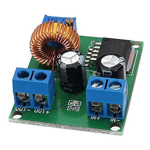 fghfhfgjdfj 3V 5V 12V a 19V 24V 30V 36V Módulo de Fuente de alimentación Regulable DC-DC 1A Ajustable