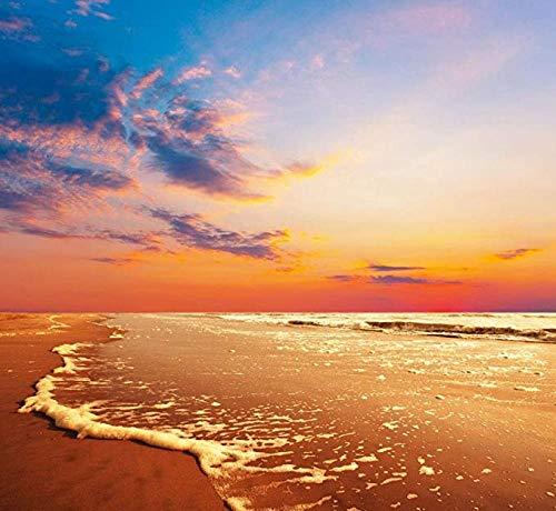 Fanxp Beach in The Evening Sunset Puzzle de madera, puzle de descompresión de 1000 piezas