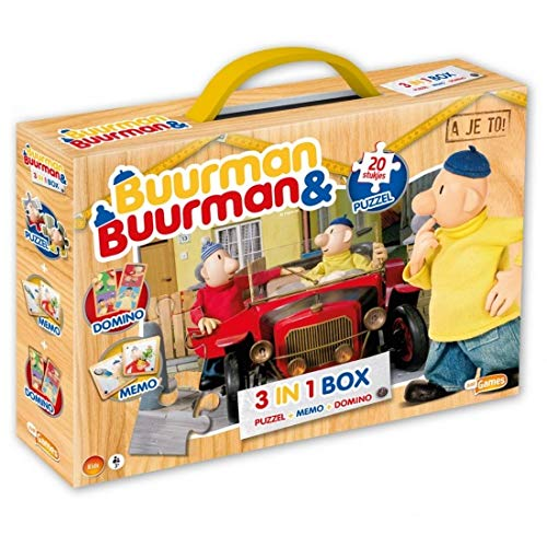Buurman & Buurman 60010  3-In-1 Box (Puzzel+Memo+Domino)