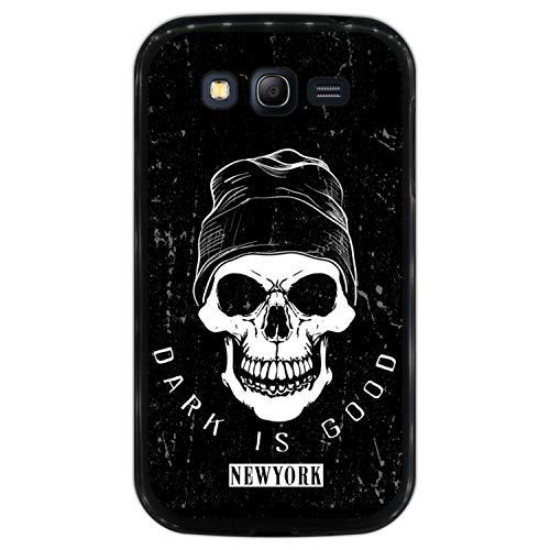 Hapdey Funda Negra para [ Samsung Galaxy Grand Neo - Neo Plus ] diseño [...