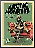 Rockband Arctic Monkeys Kraftpapier Papier Poster Wand Home