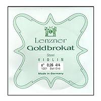 Lenzner ( レンツナー ) 弦 ゴールドブロカット E 0.26スチール ボール Violin ( ヴァイオリン ) 用
