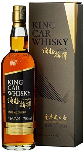 Kavalan King Car mit Geschenkverpackung Whisky (1 x 0.7 l)
