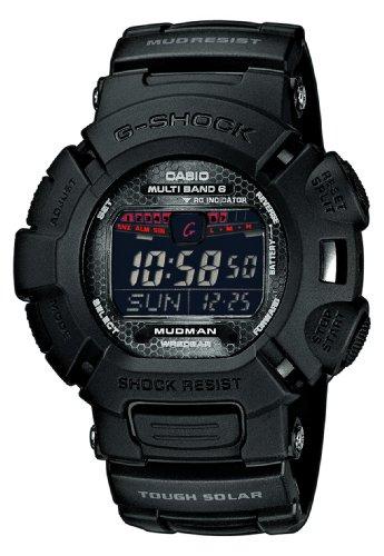 Casio GW-9010MB-1ER - Reloj Digital de Cuarzo para Hombre con Correa de Resina, Color Negro