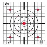 Birchwood Casey Eze-Scorer 12' Sight-in Paper Target-100 Sheet Pack, Multi