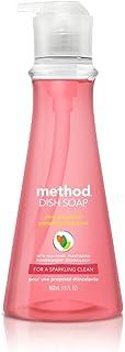 Method Dish Soap, Pink Grapefruit, 18 Fl Oz (Pack of 6)