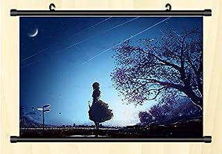 coskore タペストリー ヴァイオレット・エヴァーガーデン Violet Evergarden ヴァイオレット・エヴァーガーデン 同人 装飾 壁掛け 部屋飾 りポスター 掛ける絵 巻物 軸物 アニメ おしゃれ 萌え (90cmX60cm)