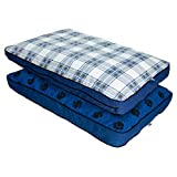 MyPillow Dog Bed [Small, Blue]