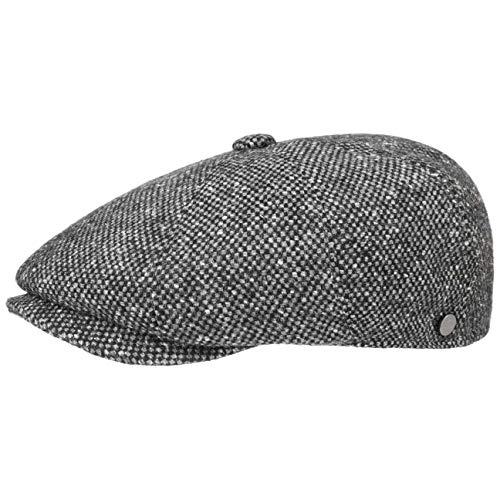 Lierys Tweed Winter Schirmmütze Damen/Herren - Flatcap Made in Italy - Mütze mit Schurwolle -...