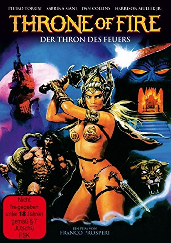 THRONE OF FIRE - Der Thron des Feuers [Limited Edition]