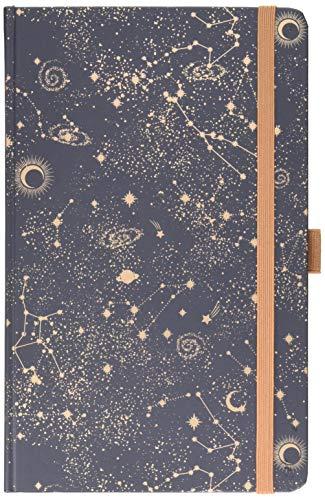 Buchkalender Times Big12 Trend Sternenhimmel 2021: Terminplaner mit hochwertiger Folienveredelung für echten Glanz. 13 x 21 cm
