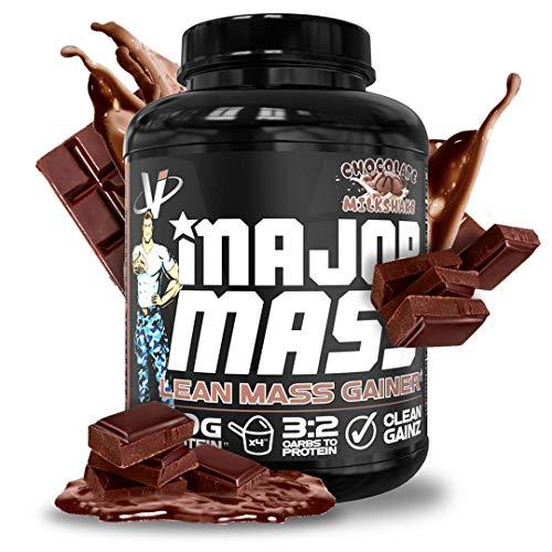 VMI Sports | Major Mass Lean Mass Gainer | Mass Gainer Protein Powder for Muscle Gain | Weight Gainer Protein Powder for Men | Weight Gainer for Women (Chocolate Milkshake, 4 Pounds)