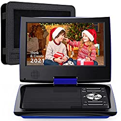 "SUNPIN 11"" Portable DVD Player with 9.5 inch HD Swivel Screen"