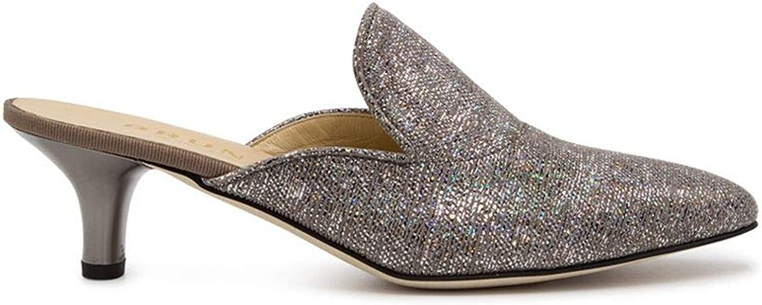 BRUNATE Women's 50979SILVER Silver Leather Sandals