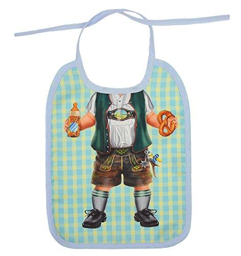 Lustige Lätzchen für Baby Baby Lätzchen Bayerische Lederhose Abwaschbare Spucktücher Babylätzchen Kinderlätzchen für Babys Kleinkind