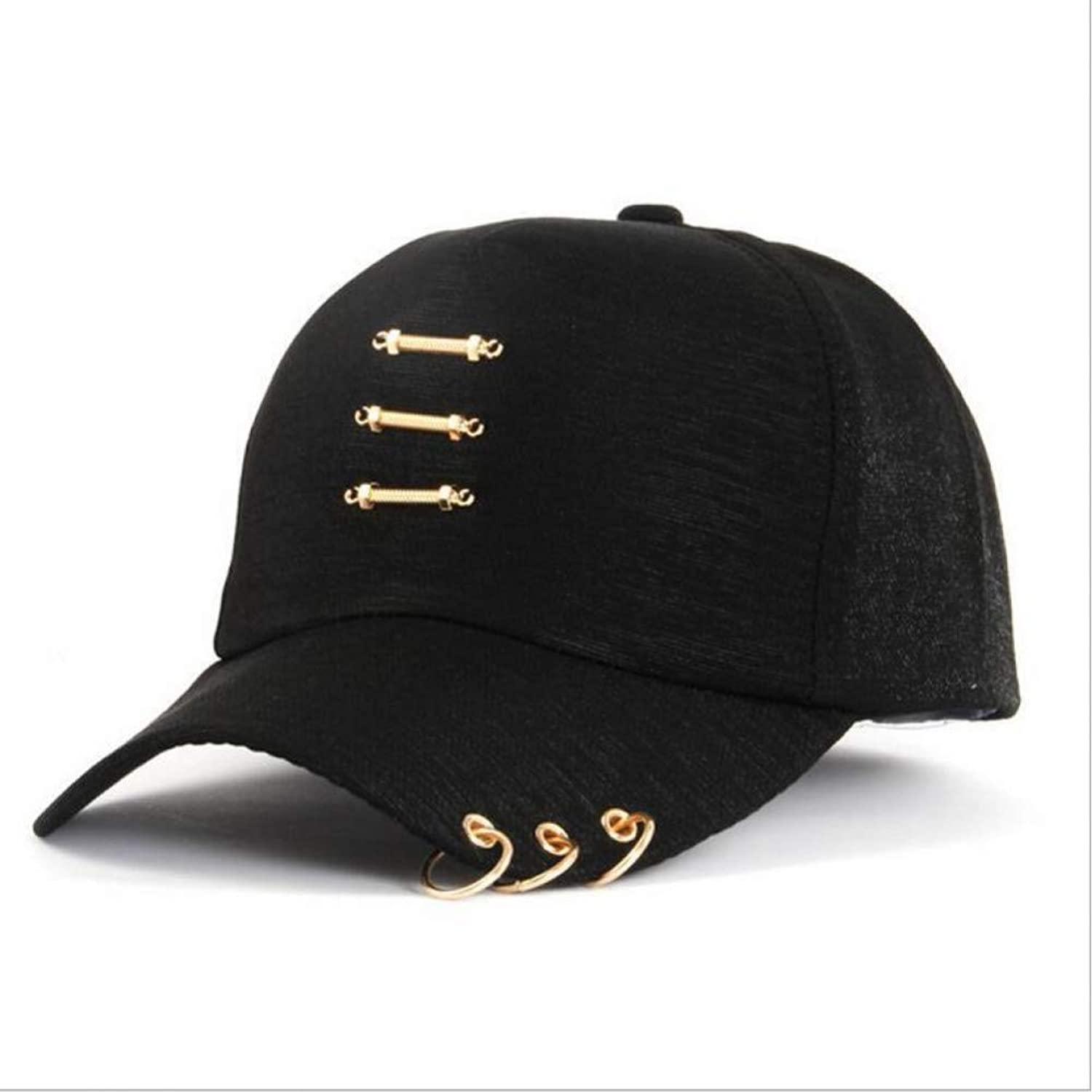 JINRMP Dad Hat Fashion Ring Baseball Cap Men Women Snapback Hip Hop Hats Solid Unisex Curved Brim Caps Casual Cotton