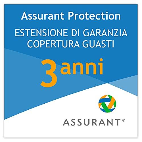 3 anni garanzia estesa per un elettrodomestico di lavanderia da 600 EUR a 649,99 EUR