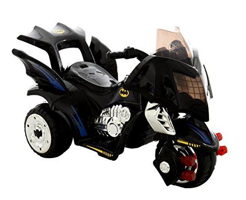 MV Sports Batman 6V Electric Ride On Bat Trike Black Ages 3 Years+