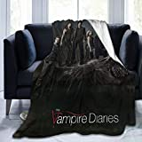 The Vampire Diaries Blanket Fleece Ultra-Soft and Warm Winter Throw Leisure Outdoor Blankets for Living Room Bed Couch (Vampire 3, 50'X40')