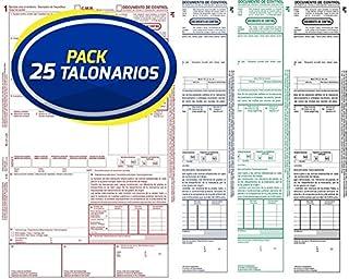 TALONARIO ALQUILER 21X10,5 CM SIMPLE T-40 Caja 10 unid