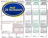 Pack 25 Talonarios CMR Transporte Internacional | Acordes a la legislación vigente