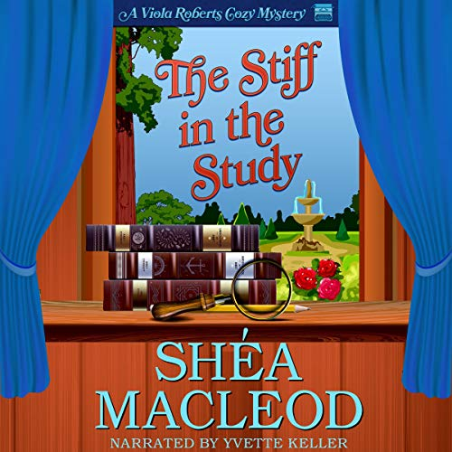 The Stiff in the Study audiobook cover art